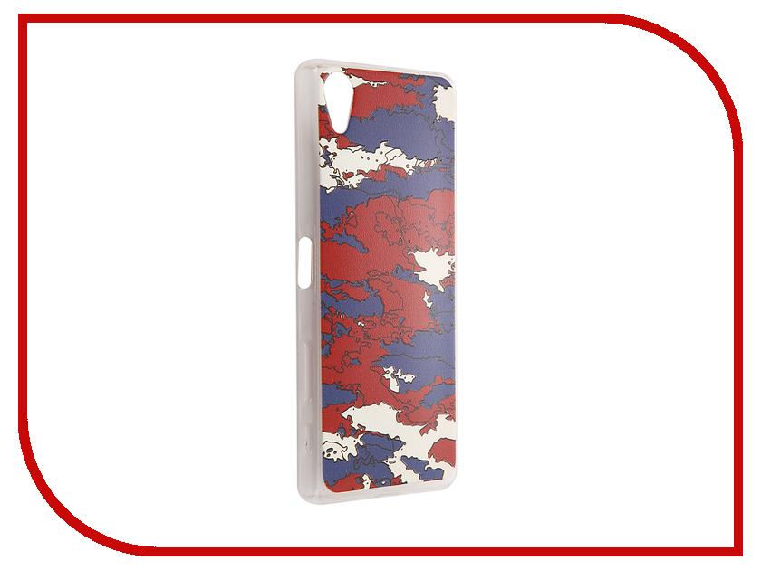 Аксессуар Чехол Sony Xperia X CaseGuru Коллекция Патриотизм рис 2 88952