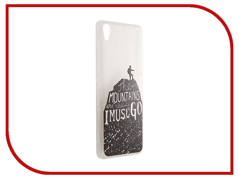 Аксессуар Чехол Sony Xperia XA CaseGuru Коллекция Минимализм рис 2 89016