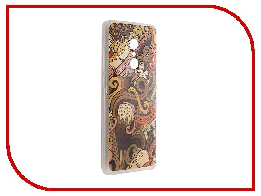 Аксессуар Чехол Xiaomi Redmi Note 4 CaseGuru Коллекция Узоры рис 6 90050