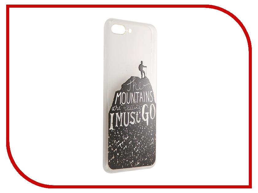 Аксессуар Чехол CaseGuru Коллекция Минимализм рис 2 для iPhone 7 Plus 88152