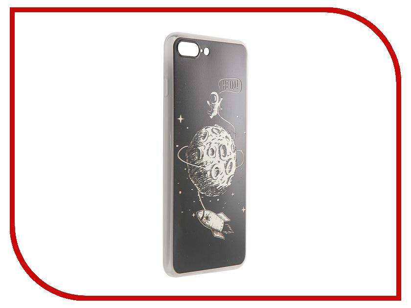 Аксессуар Чехол CaseGuru Коллекция Минимализм рис 4 для iPhone 7 Plus 88154