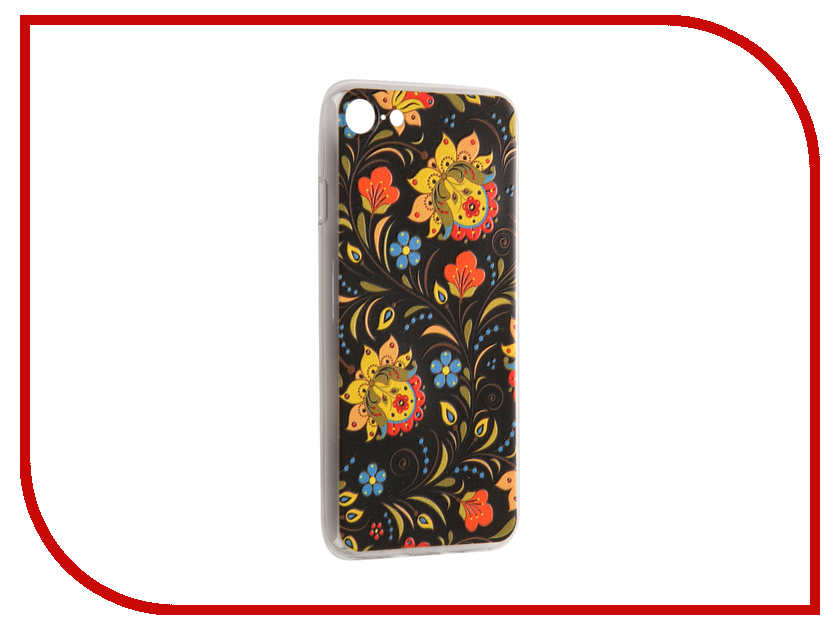 где купить Аксессуар Чехол CaseGuru Коллекция Узоры рис 2 для iPhone 7 88126 дешево