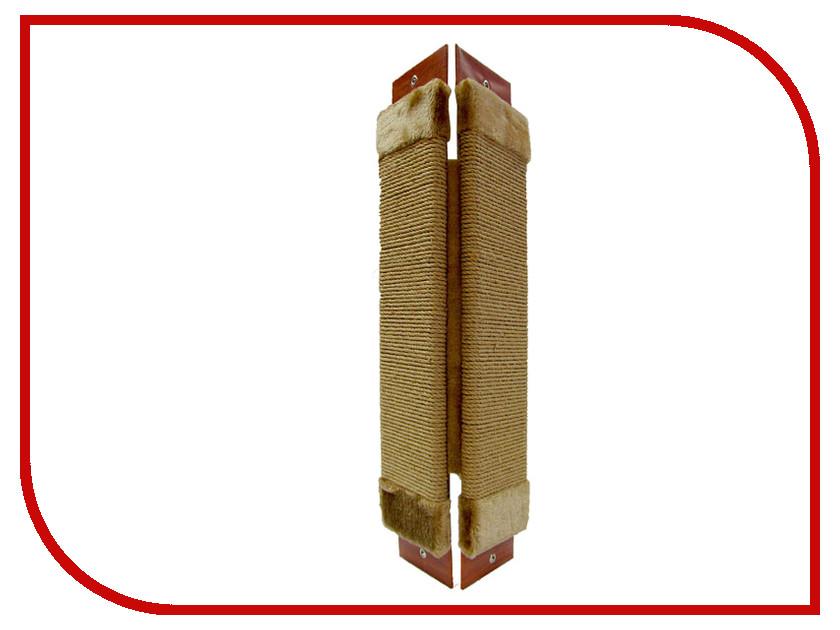 Когтеточка Неженка Джутовая угловая 61x24cm 7164 когтеточка неженка большая джутовая угловая 68 30 см с кошачьей мятой