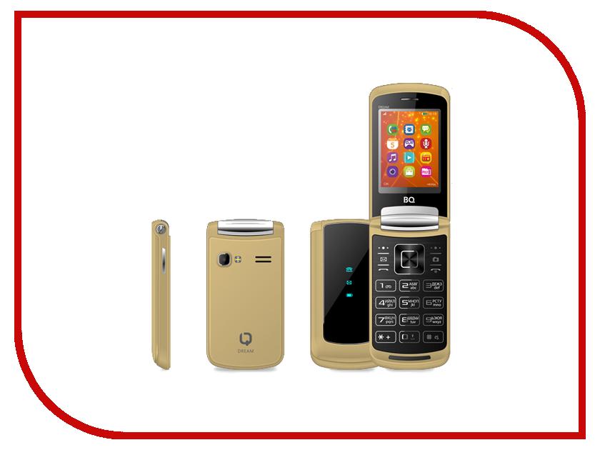 Сотовый телефон BQ 2405 Dream Gold bq телефон bq 2405 dream