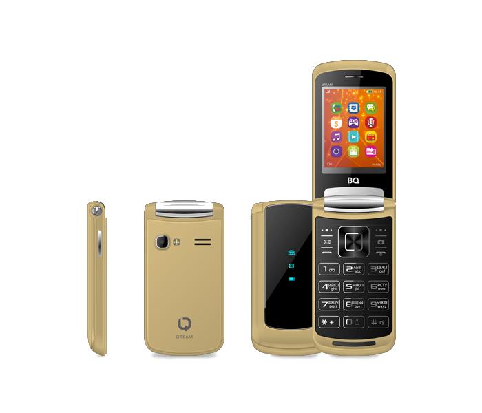 Сотовый телефон BQ 2405 Dream Gold