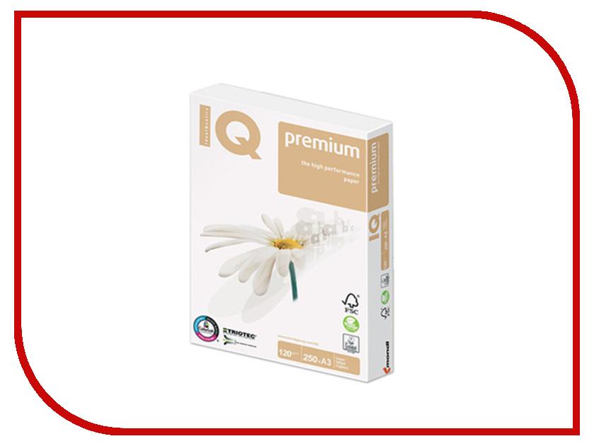 Бумага IQ Premium А3 120g/m2 250л A+<br>