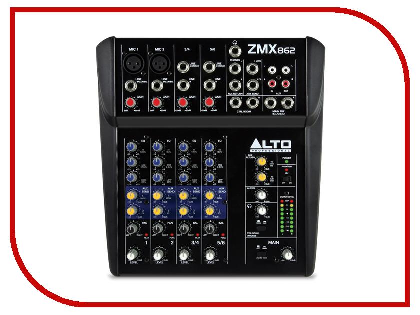 Пульт Alto ZMX862 линейный массив alto sxa28p