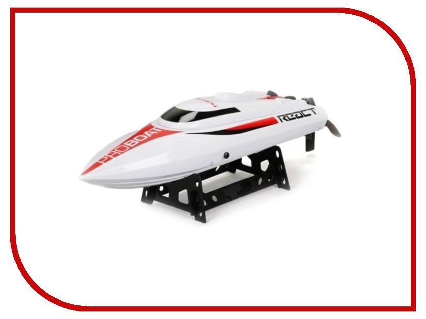 Игрушка Pro Boat React 17 Self-Righting Brushed Deep-V PRB08024 pro boat shockwave 26 brushless deep v электро бесколлекторная система аппаратура 2 4ghz