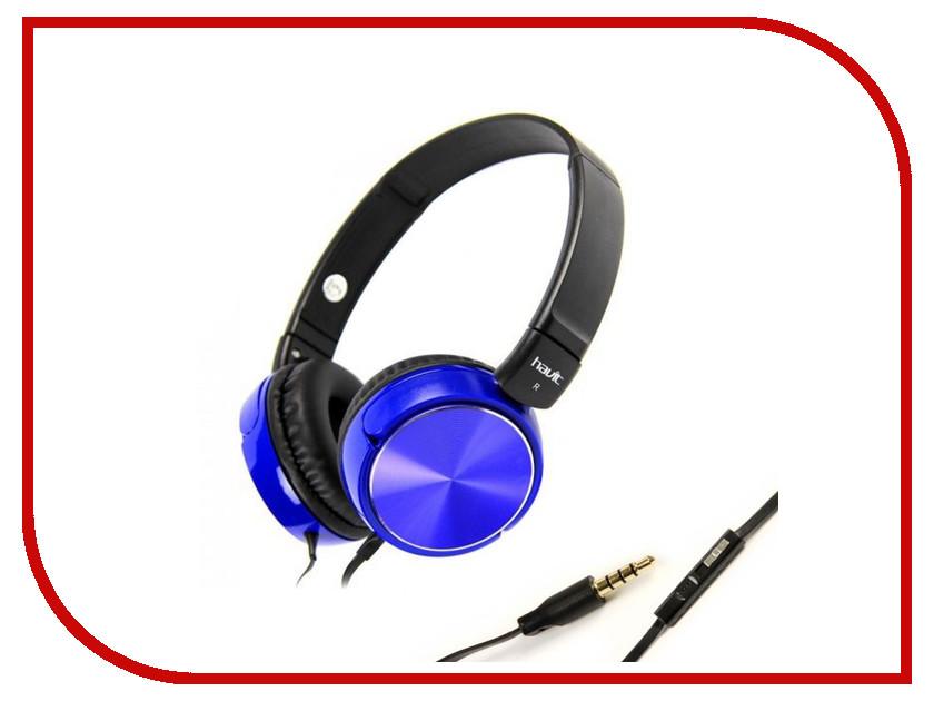 где купить Гарнитура Havit HV-H2178D Blue дешево