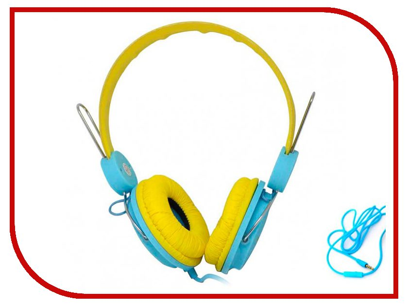 Havit HV-H2198D Yellow-Blue мышь havit hv ms979gt usb blue