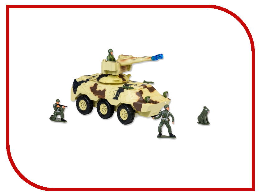 Игрушка Mioshi Army Вездеход MAR1207-008 mioshi 30см mar1207 001