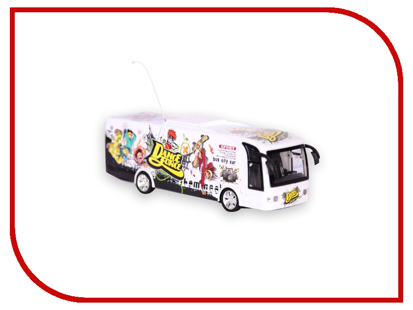 Игрушка Mioshi Tech Party Bus White MTE1201-051