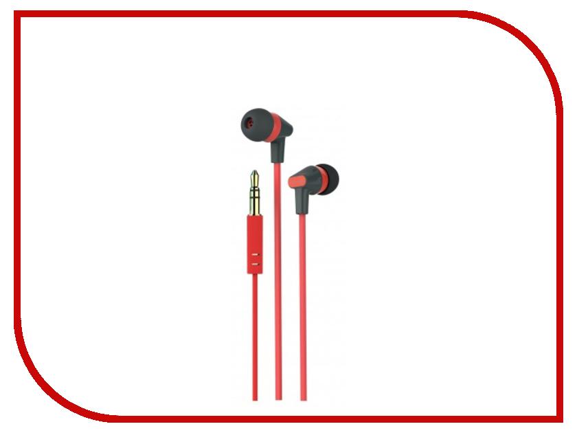 Наушники Microlab K766P Black-Red
