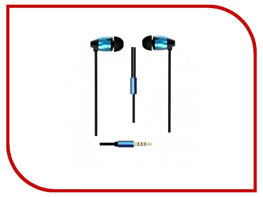 Наушники Microlab K765P Black-Blue гарнитура microlab k763d blue