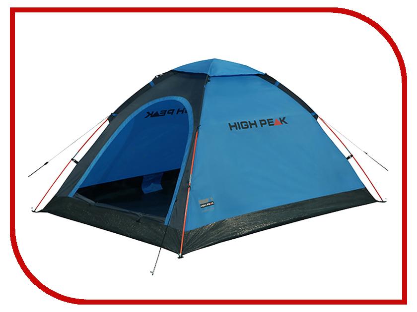 Палатка High Peak Monodome PU Blue 10158 high peak палатка high peak wellington 4 12224
