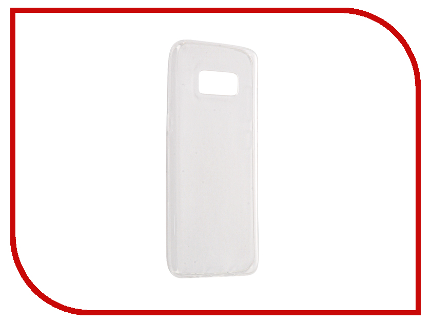 Аксессуар Чехол Samsung Galaxy S8 Gecko Transparent White S-G-SGS8-2017-WH