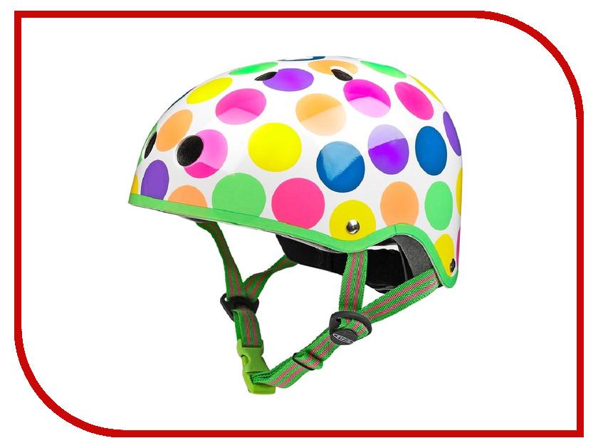 Шлем Micro Неоновый горох М