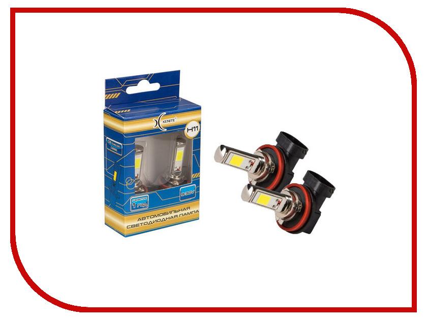 Лампа Xenite COB H11 5000K 9-30V 1200Lm (2 штуки)