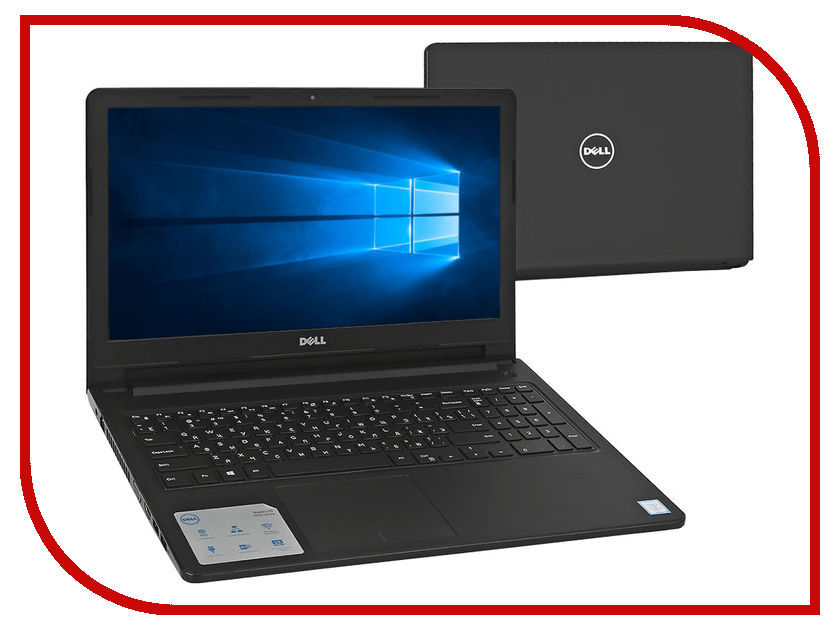 Ноутбук Dell Vostro 3568 3568-0407 (Intel Pentium 4405U 2.1 GHz/4096Mb/1000Gb/Intel HD Graphics/Wi-Fi/Bluetooth/Cam/15.6/1366x768/Windows 10 64-bit) dell vostro 3568 black 3568 7763