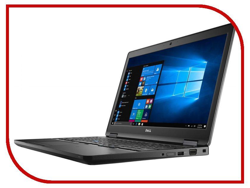 Dell Ноутбук Dell Latitude 5580 5580-9224 (Intel Core i5-7440HQ 2.8GHz/8192Mb/256Gb SSD/Intel HD Graphics/Wi-Fi/Bluetooth/Cam/15.6/1920x1080/Windows 10 64-bit)