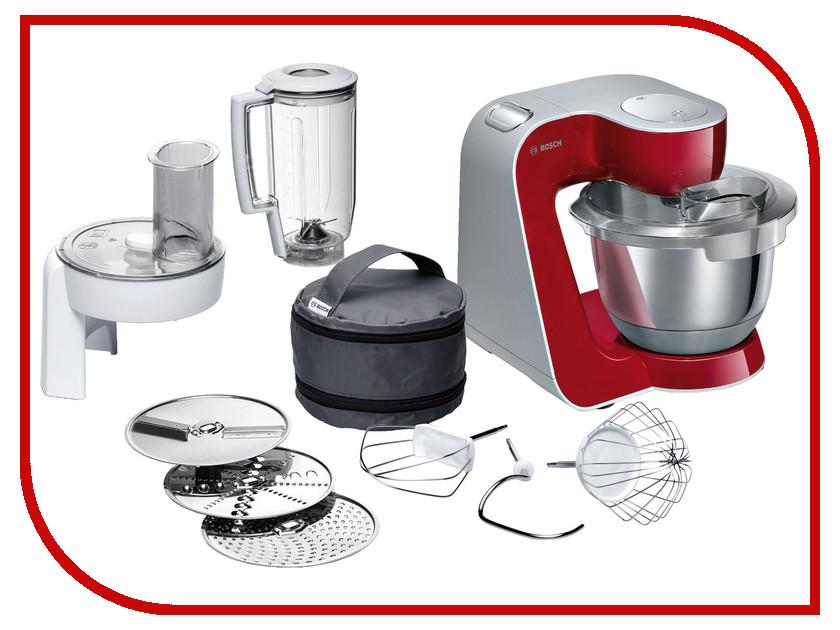 Комбайн Bosch MUM 58720 Red-Silver комбайн bosch mcm4000 silver
