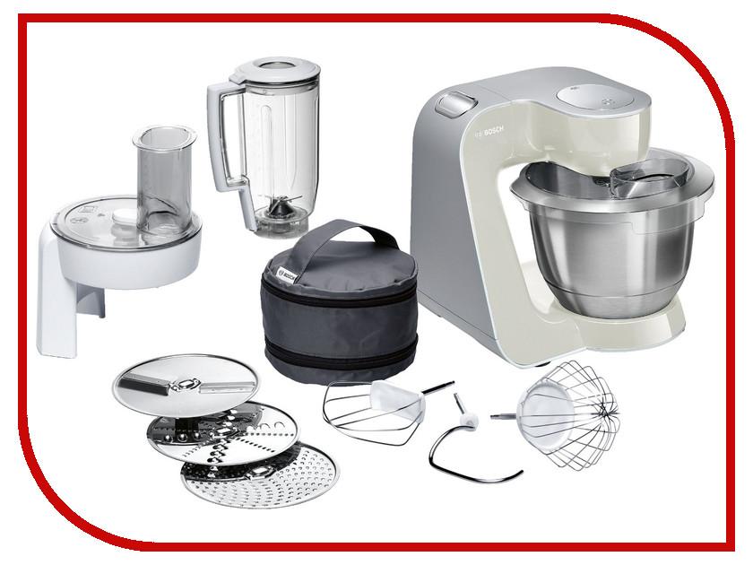 Комбайн Bosch MUM 58L20 Grey-Silver комбайн bosch mcm4000 silver