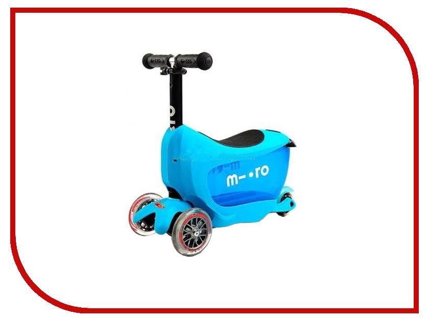 Самокат Micro Mini 2go Deluxe Blue MMD030