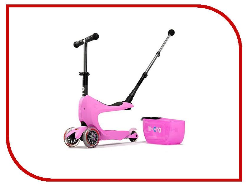 Самокат Micro Mini 2go Deluxe Plus Pink MMD033