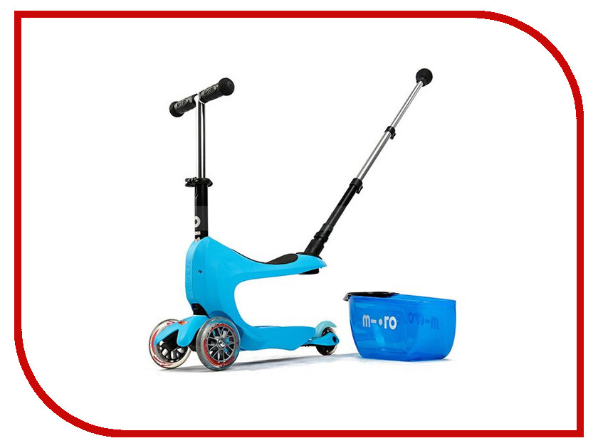 Самокат Micro Mini 2go Deluxe Plus Blue MMD034