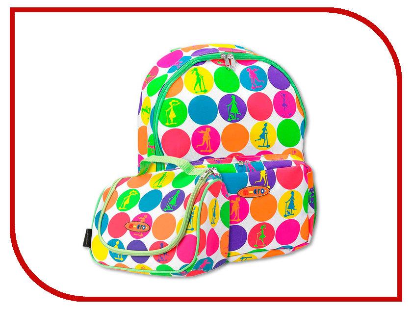 Рюкзак + сумочка для Micro Maxi Micro Neon