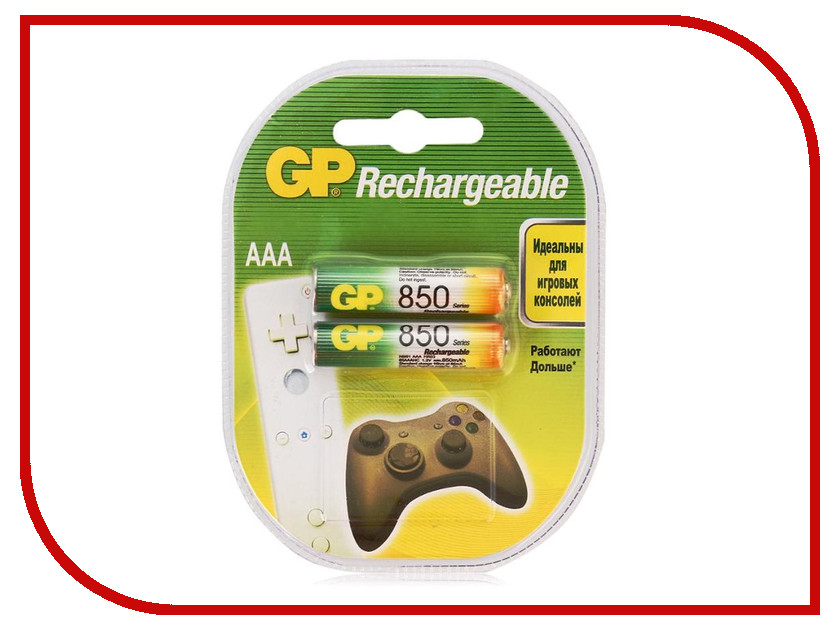 Аккумулятор AAA - GP 85AAAHC-2DECRC2