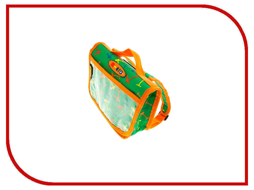Сумочка-рюкзачок Micro Green-Orange