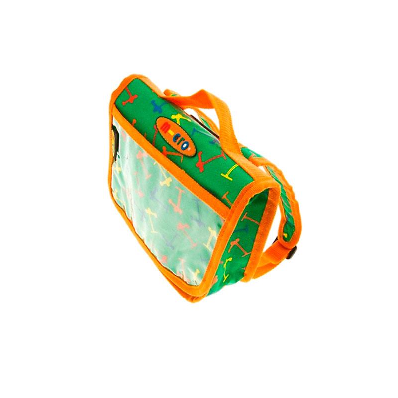 Сумочка-рюкзачок Micro Green-Orange bottleholder micro