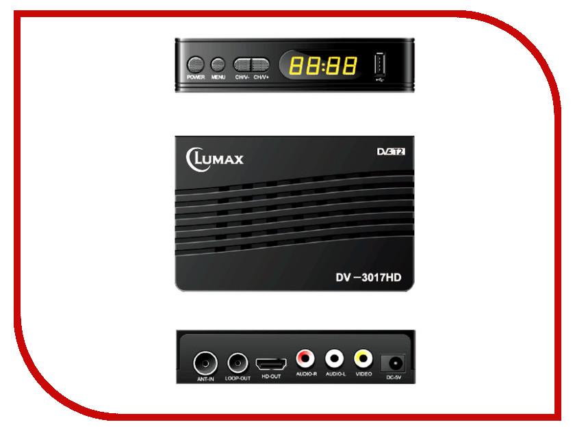 Комплект спутникового телевидения Lumax DV-3017HD