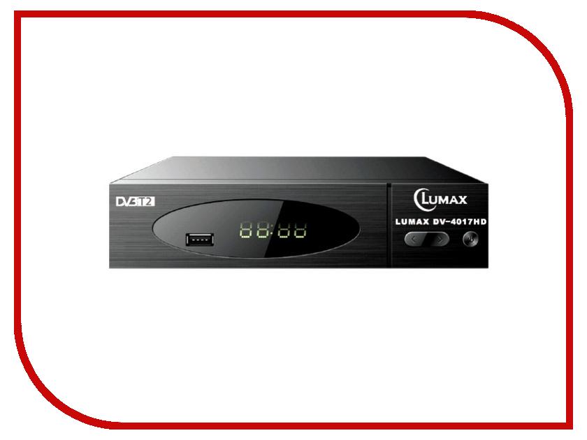 Комплект спутникового телевидения Lumax DV-4017HD