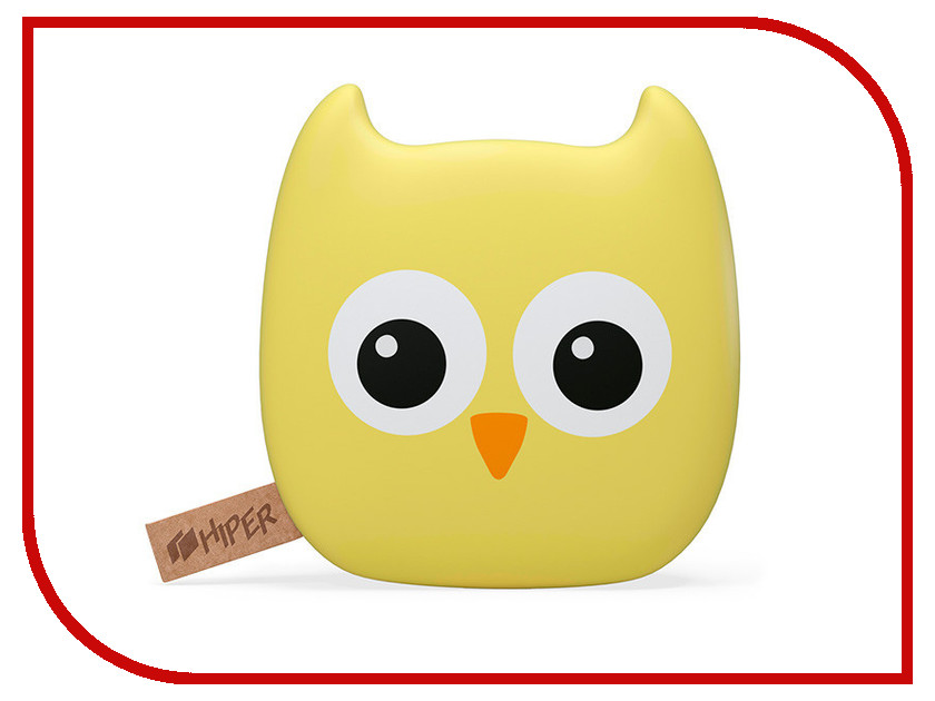 Аккумулятор HIPER Power Bank ZOO 7500 Owl 7500mAh hiper power bank rp7500 инструкция