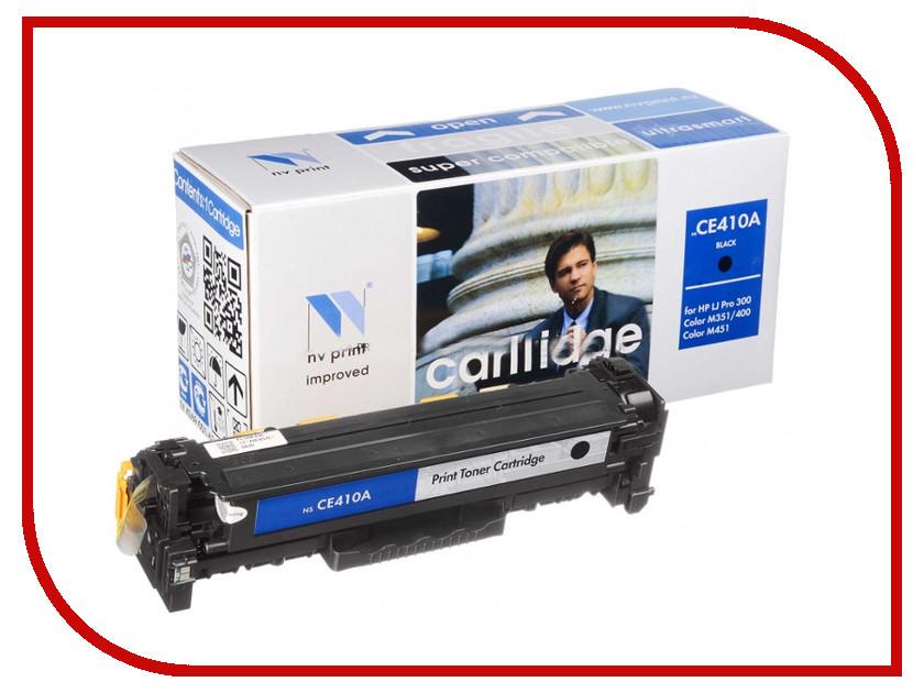 Картридж NV Print HP CE410A Black для LaserJet Color M351a/M375nw/M451dn/M451dw/M451nw/M475dn/M475dw 2200k картридж для принтера nv print hp q5949x q7553x black