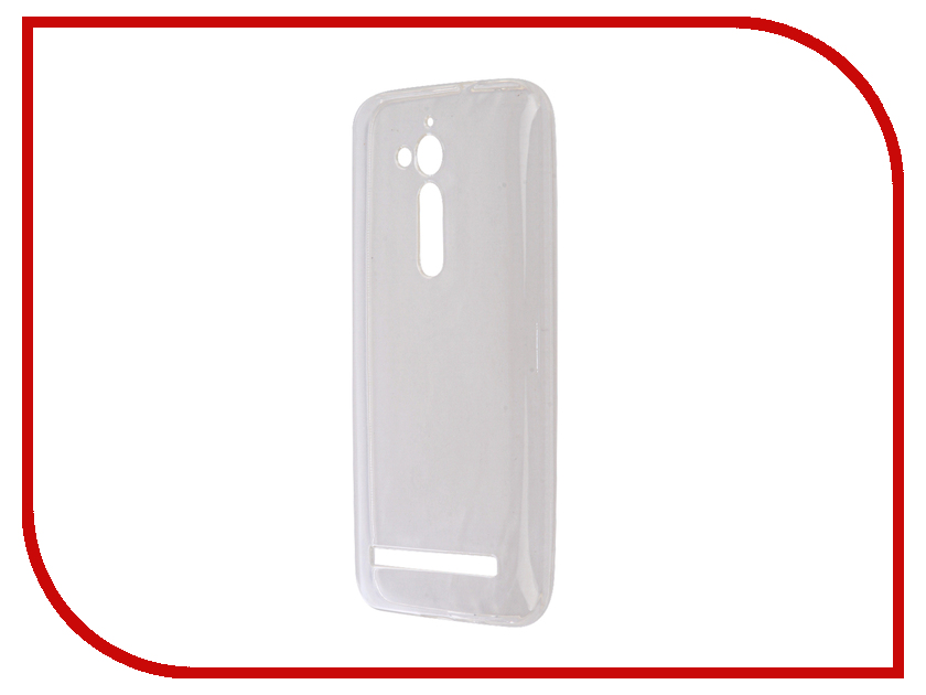 Аксессуар Чехол ASUS Zenfone GO ZB500KL Zibelino Ultra Thin Case White ZUTC-ASU-ZB500KL-WHT аксессуар чехол asus zenfone go tv zb551kl zibelino classico black zcl asu zb551kl blk