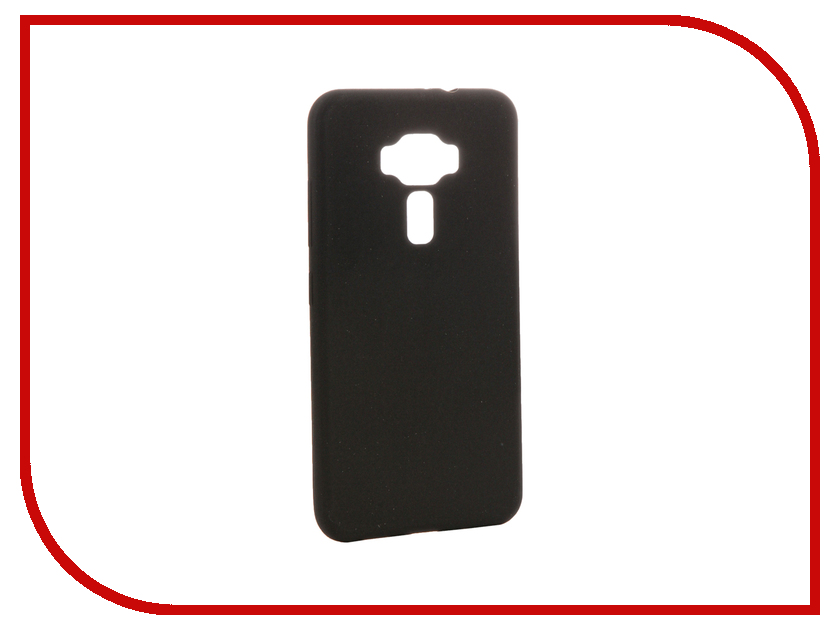 Аксессуар Чехол ASUS ZenFone 3 ZE520KL Zibelino Soft Matte Black ZSM-ASU-ZE520KL аксессуар чехол накладка asus zenfone c zc451cg cherry black 8270