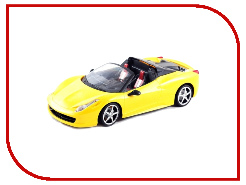 Игрушка Shenglong Model Racing Red-Yellow 750651 f1 rb6 formula 1 racing model 20067 1 20 red bull racingrenault