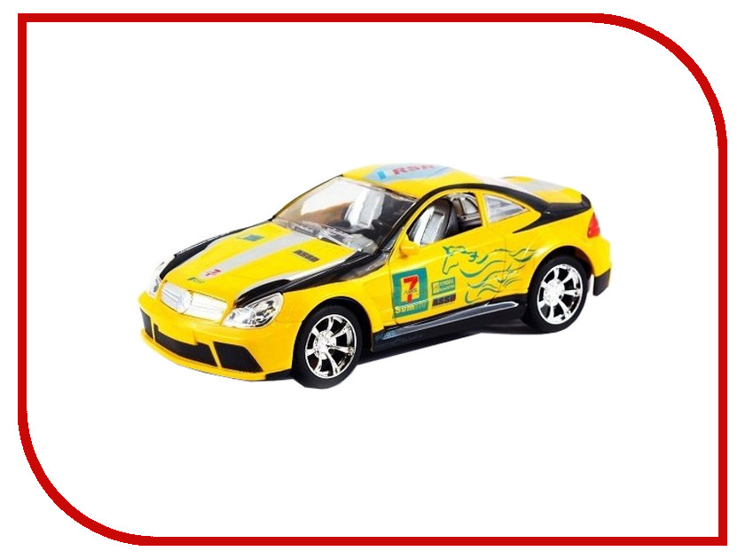 Игрушка Shenglong Racing Team Yellow-White 676554
