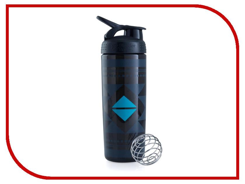Шейкер BlenderBottle SportMixer Sleek 828ml Black BB-SMSK-DINA
