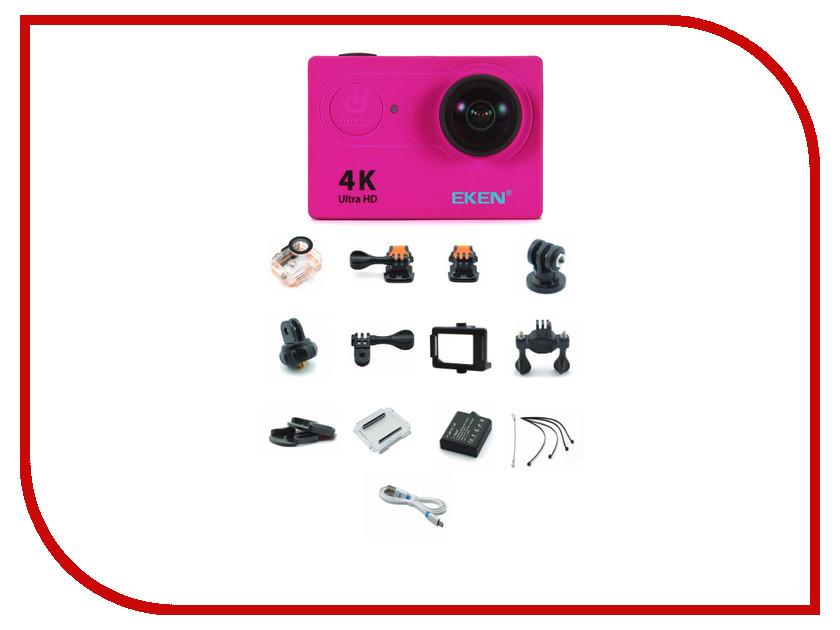 Экшн-камера EKEN H9 Ultra HD Pink экшн камера eken h8pro ultra hd yellow