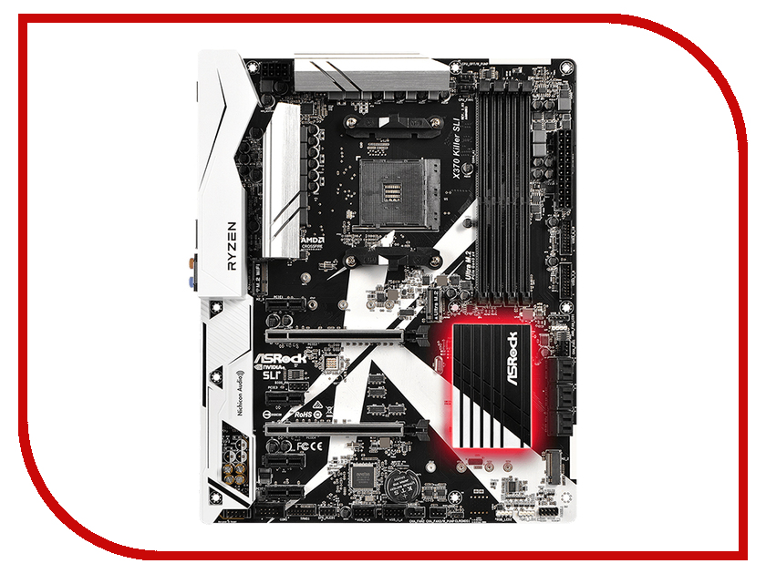 Материнская плата ASRock X370 Killer SLI фонарик cree xml t6 18650 super light
