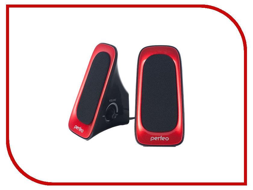 Колонка Perfeo Multimedia Speaker Active PF-429-R Red