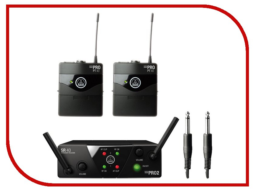 Радиомикрофон AKG WMS40 Mini 2 Instrumental Set US45A/C