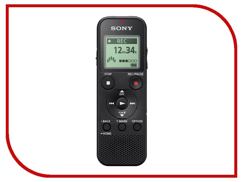 Диктофон Sony ICD-PX370 цифровой диктофон sony icd tx650b 16гб черный
