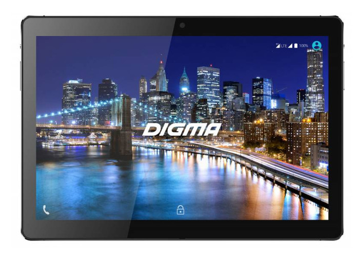 Планшет Digma CITI 1508 4G (MediaTek MT8735W 1.3 GHz/3072Mb/64Gb/Wi-Fi/3G/4G/Bluetooth/GPS/Cam/10.1/1920x1200/Android)