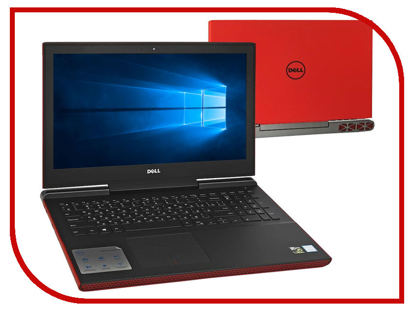 Ноутбук Dell Inspiron 7567 7567-9347 (Intel Core i7-7700HQ 2.8 GHz/8192Mb/1000Gb + 8Gb SSD/nVidia GeForce GTX 1050Ti 4096Mb/Wi-Fi/Cam/15.6/1920x1080/Windows 10 64-bit) ноутбук asus rog gl553ve fy037t 90nb0dx3 m01580 intel core i7 7700hq 2 8 ghz 8192mb 1000gb 128gb ssd dvd rw nvidia geforce gtx 1050ti 4096mb wi fi cam 15 6 1920x1080 windows 10 64 bit