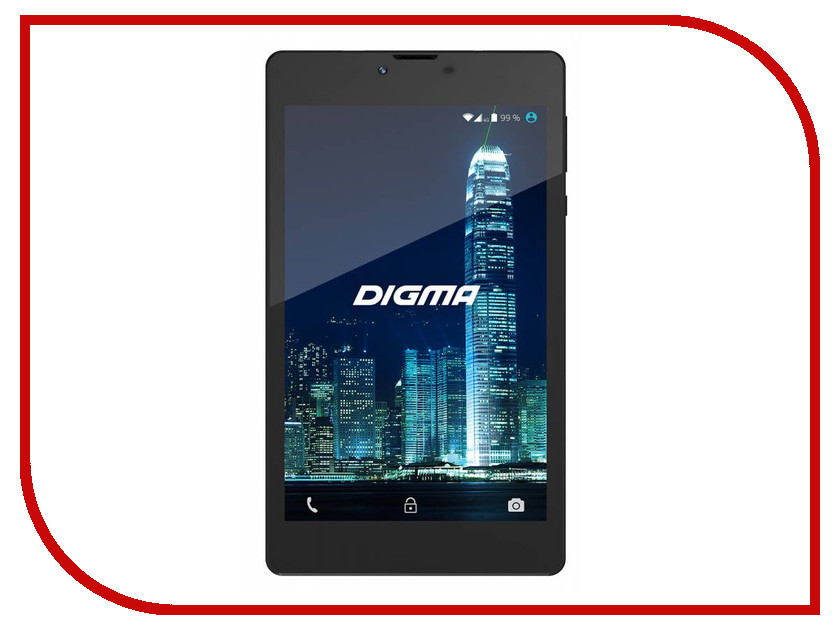 Планшет Digma CITI 7907 4G (Spreadtrum SC9832 1.5 GHz/1024Mb/16Gb/Wi-Fi/3G/4G/Bluetooth/GPS/Cam/7.0/1280x800/Android) планшет digma plane 1506 4g black ps1084ml mediatek mt8735p 1 0 ghz 1024mb 8gb gps 4g wi fi cam 10 1 1280x800 android 394176